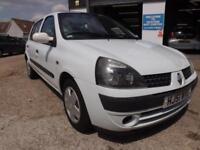 2001 Renault Clio 1.2 16v Expression DRIVE AWAY TODAY!