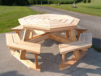 Quality Wooden Furniture-Picnic Tables/Adirondacks/Planters/More