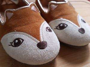 Toddler Girls Fox Shoes Size 8