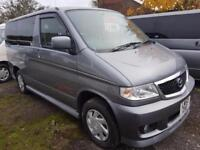 MAZDA BONGO, 2003, 2.0 LITRE, 58,000 MILES, AUTOMATIC IN GREY