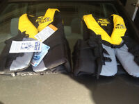 2 Brand new Adult Life Jackets