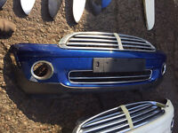Bmw mini r56 cooper one genuine front bumper choice of colour can post