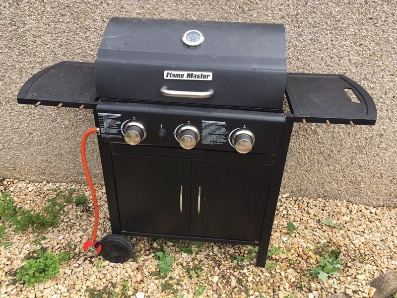 Flame Master Bbq.Flamemaster 3 Burner Bbq In Keynsham Bristol Gumtree