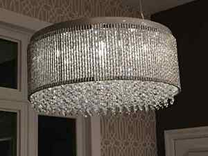 Brand new 23' crystal/chrome Dining light Kitchener / Waterloo Kitchener Area image 1