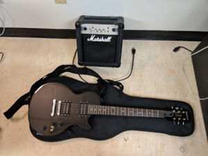 Epiphone Les Paul Special and Amp