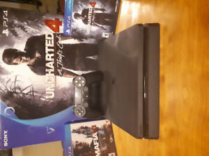 Ps4 and all accessories with 2 games