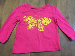 7 The Children's Place long sleeve shirts 9-12 months