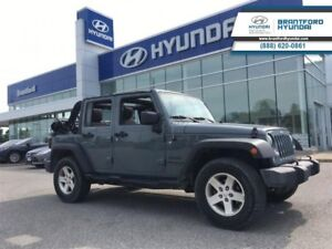 2015 Jeep Wrangler Unlimited Sport | MANUAL | 2 TOPS  - Cruise C