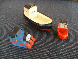 Thomas the Tank Engine puzzle, toys &other items