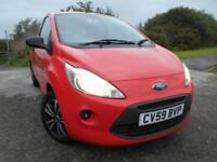 2009 59 FORD KA 1.2 STUDIO 3D 69 BHP ** 1 PREVIOUS OWNER ,ONLY 47K **