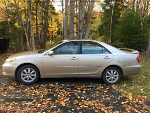2002 Toyota Camry XLE  $1,850