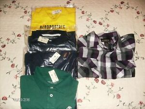 Four New Aeropostale Golf Shirts