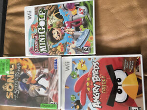 Variety of Nintendo Wii Games