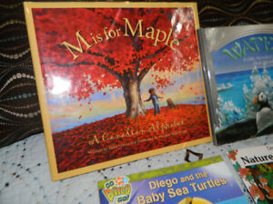 """""""M"""" is for Maple, etc. book lot"""