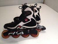 Fila men's roller blades - inline skates, size 9.5 US