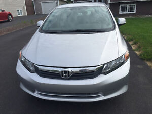 2012 Honda Civic LX Sedan 47,000 km *Grand Falls-Windsor*