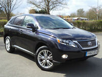 Lexus RX 450h 3.5 CVT SE-L Full Lexus History Leather Camera 1 Former Keeper