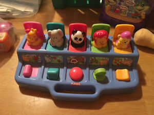 Various baby / toddler toys in great shape