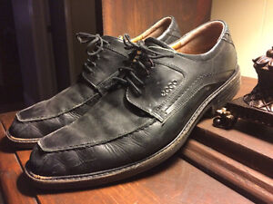 Mens' Italian Leather Black Dress Shoes!!!!