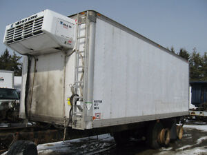 22′ Insulated cargo box for storage with reefer