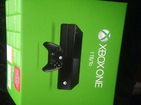 Xbox one 1tb with games
