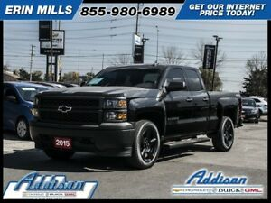 2015 Chevrolet Silverado 1500 Work Truck20 Wheels My Link Black