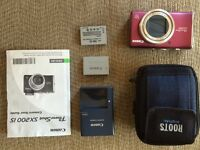 REDUCED!! Canon PowerShot SX200IS camera