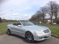2005/55 MERCEDES CLK350 7G-TRONIC ELEGANCE CONVERTIBLE***NEW MOT***FULLY SERVICED***STUNNING EXAMPLE