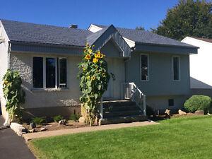 Belle petite maison pour grande famille avec garage double