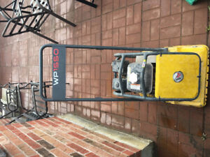 1550 VP WACKER NEUSON Plate Tamper Compactor for sale