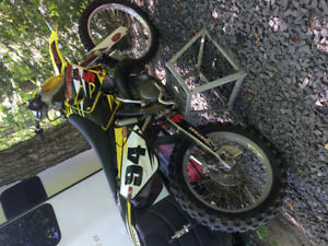 Cleanest RM250 on the market with ownership starts first kick