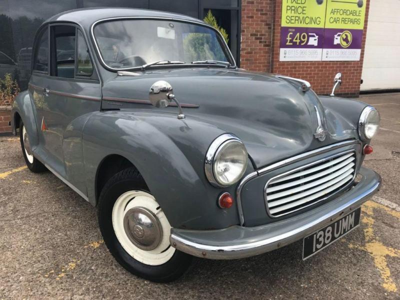 1959 morris minor 0 9 1000 2d in nottingham. Black Bedroom Furniture Sets. Home Design Ideas