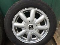 Mini 15inch Alloy wheel x1