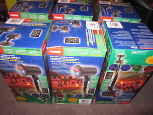 Prime Laser Projector Outdoor Christmas Lighting Kits + Remote