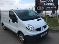 2014 14 RENAULT TRAFIC VAN 2.0 SPORT SHORT WHEEL BASE LOW ROOF DIESEL