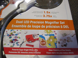 OttLite Dual LED Precision Magnifier Set - new, open package Kitchener / Waterloo Kitchener Area image 2