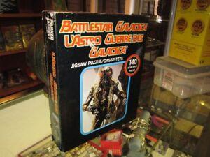 Vintage 1978 140 Piece BATTLESTAR GALACTICA Puzzle