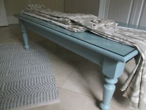 Solid Wood Refinished Coffee Table