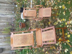 Collignon Patent 1871 Steamer Deck Chairs Adult & Child Sizes