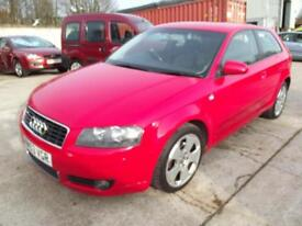 Audi A3 2.0TDI Sport 3 DOOR HATCH WITH SERVICE HISTORY