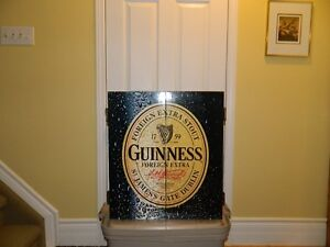 Guinness Dart Board and Cabinet