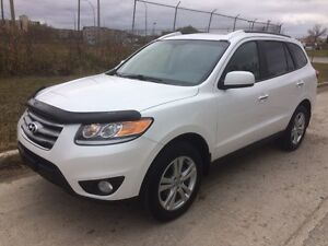 2012 Hyundai Santa Fe Limited AWD - NAV - Leather -Sunroof-BCam