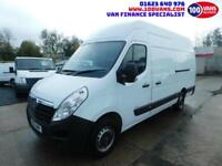 VAUXHALL MOVANO 2.3CDTI 125PS L3H3 R3500 LWB LOVELY LOW MILEAGE