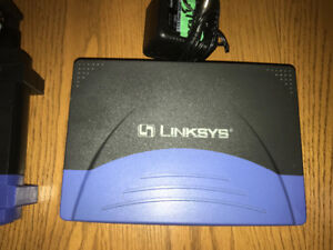 Linksys Modem and Router