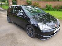2005 Honda Civic 2.0 i VTEC Type R 3dr Manual Hatchback in Black