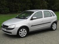 2001 51 Vauxhall Corsa 1.2i 16v SXi 5 Door Hatchback Manual