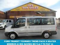 2010 10 FORD TRANSIT TOURNEO 2.2 280 TREND TOURNEO 9 STR 5D 115 BHP IN RELFEX SI