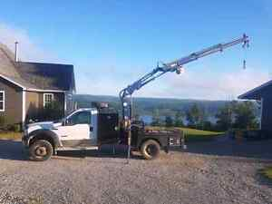 Picker truck for hire