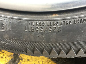 225/55/17r winter tires with alloy rims London Ontario image 5