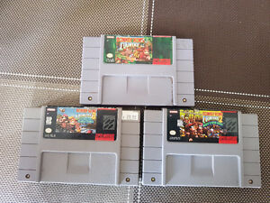 donkey kong contry 1-2-3 snes